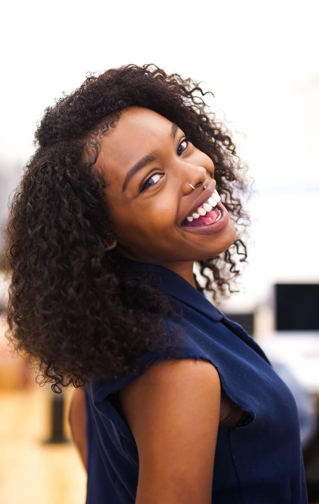 Hvite tenner er viktig for et godt smil
